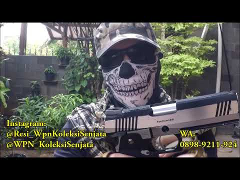Évaluer Airsoftgun Hicapa Ops Tactical.45 Cal 6mm (TOKYO MARUI)