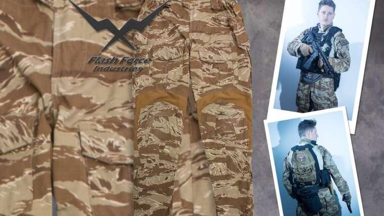 """Test de Flash Force Industries Gen 3 Desert Tiger Stripe """"Crye interdit"""""""