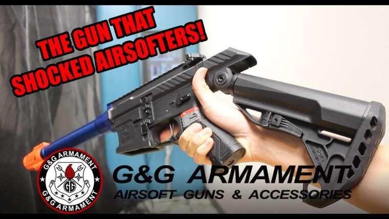 REVUE ET GAMEPLAY G&G SSG-1 ||  SpeedSoft Airsoft Gun!  ||  QSAirsoft