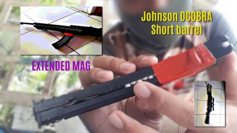 Évaluer Canon court Johnson Dcobra Airsoft avec chargeur étendu