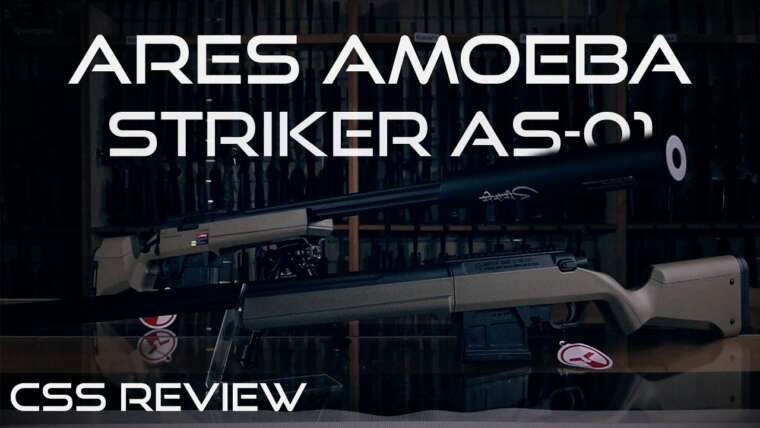 Ares Striker AS01 Airsoft Sniper Rifle Review CSS