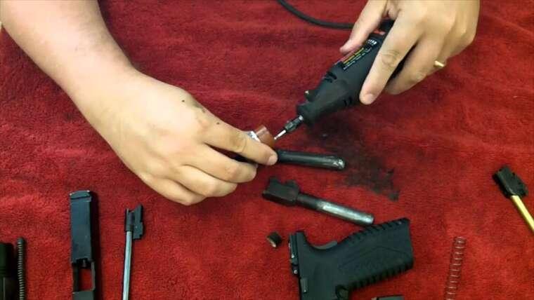 Comment polir votre canon de pistolet Airsoft
