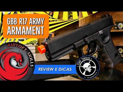 REVUE |  DICAS |  AIRSOFT |  R17 |  ARMY ARMAMENT |  COMPÉTENCES AIRSOFT