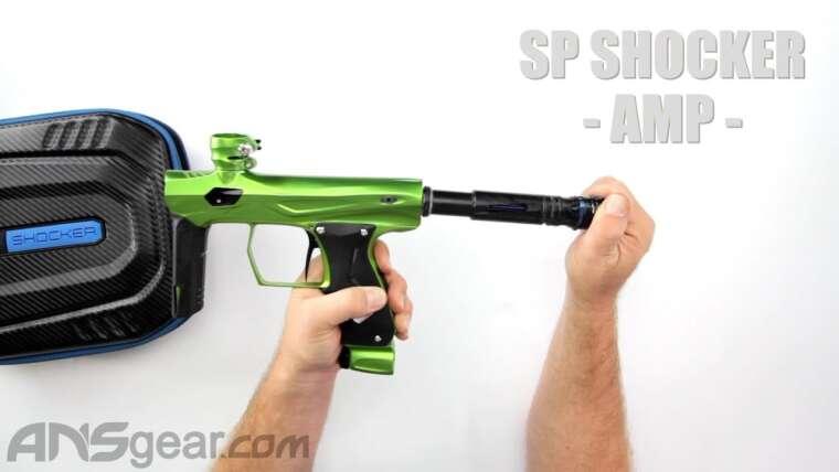 Pistolet de paintball SP Shocker AMP – Critique