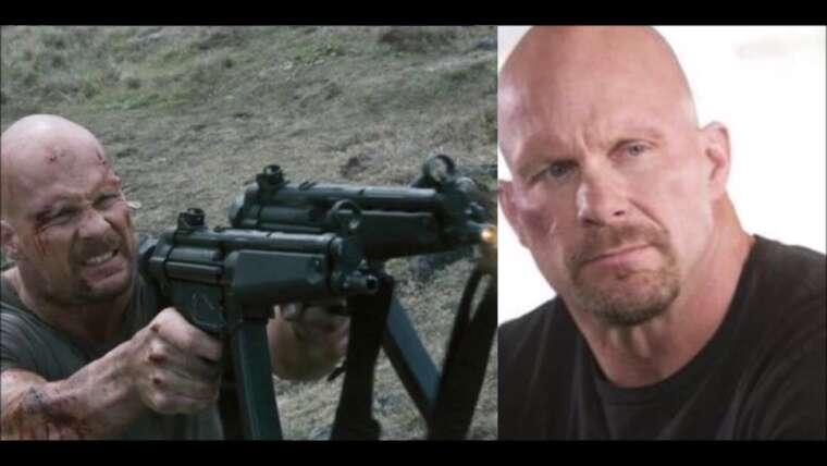 Steve Austin sur quel pistolet il utilise pour la protection de la maison