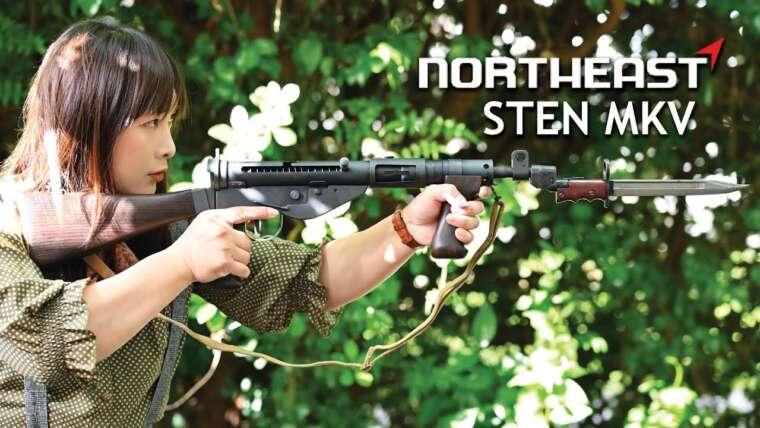 Nonocat Airsoft Review – Northeast Airsoft Sten MK5 Gas Blowback