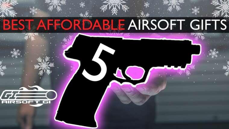 CADEAUX BON MARCHÉ A $$!  – Top 5 des cadeaux Airsoft abordables |  Airsoft GI