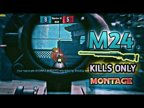 Sniper mobile PUBG[Only M24]  Believer    chanson par: – BTH RUSH GAMING.