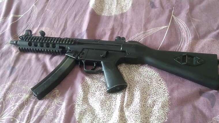 Évaluer Mainan Unit Airsoft MP5 AEG