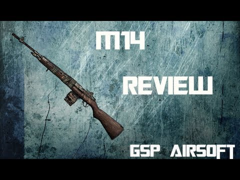 CYMA M14 Softair Review (GsP Airsoft) ALLEMAND
