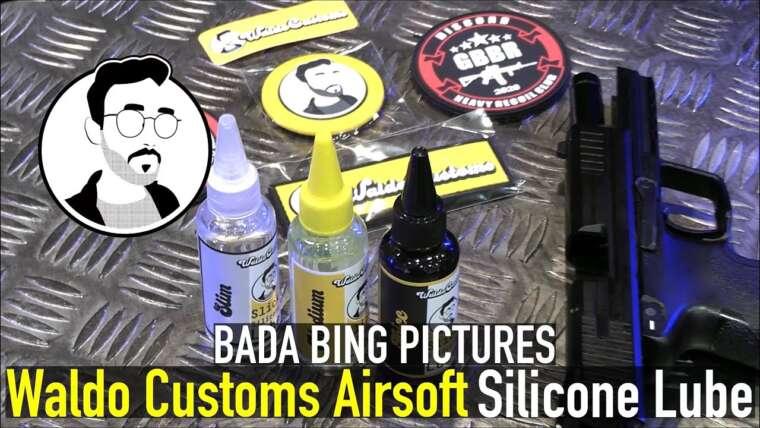 Waldo Customs Airsoft Slick Silicone Lube Unboxing / Présentation