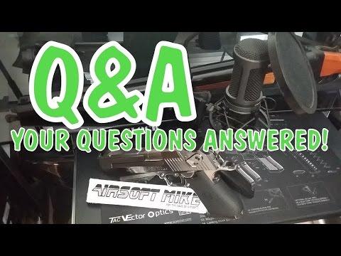 SESSION DE QUESTIONS!  ET MISE À JOUR sur le pistolet APS ACP Co2 Airsoft / AIRSOFT MIKE
