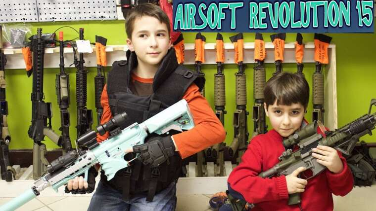Indoor Airsoft Battlefield avec les meilleurs frères, Robert-Andre et William-Haik!
