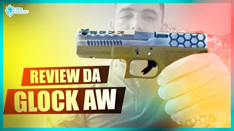 AIRSOFT |  REVUE GLOCK ARMORE WORKS G17
