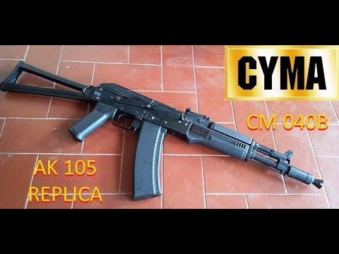 (Airsoft Review – Airsoft Indonesia) Cyma CM040B – Réplique AK 105