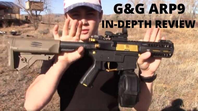 G&G ARP9 Airsoft AEG Revue approfondie (test de tir et revue)