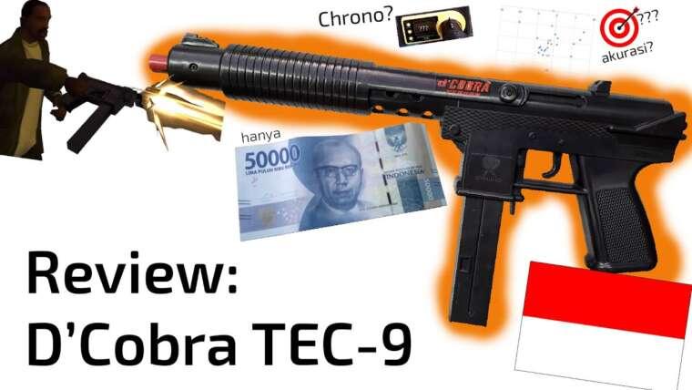 Donnez votre avis sur Airsoft Spring Indonesia D'Cobra TEC-9, populaire dans GTA San Andreas!