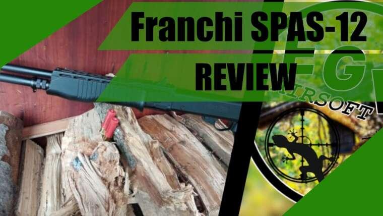 FRANCHI SPAS-12 SPRING SHOTGUN Review // AIRSOFT