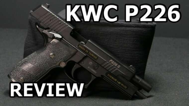 KWC P226 Sig Sauer X-Five Revue rapide GSP Airsoft allemand / deutsch