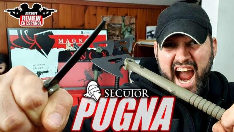 Nouveaux couteaux et tomahawks Secutor Dummy, le PUGNA |  Revue Airsoft en espagnol