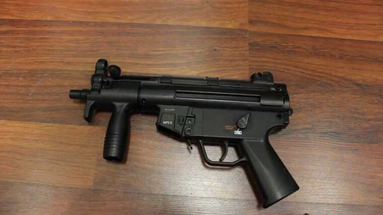 H&K MP5k Softair Review (2,5 Joule) GsP Airsoft ALLEMAND