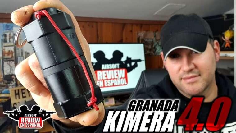 L'une des meilleures grenades que j'ai jamais eues!  Le nouveau KIMERA 4.0    Revue Airsoft en espagnol