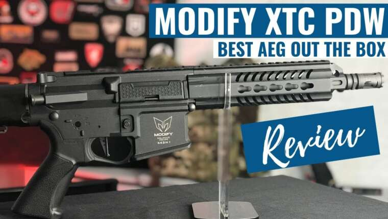 MODIFIER XTC PDW |  Revue Airsoft |  Meilleur AEG Out The Box!?!