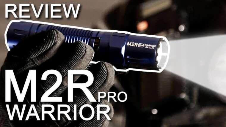 Lampe M2R Pro WARRIOR OLIGHT – REVUE
