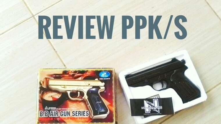 Déballage et révision Walther PPK / S airsoft spring.NEVERMORESHOP.