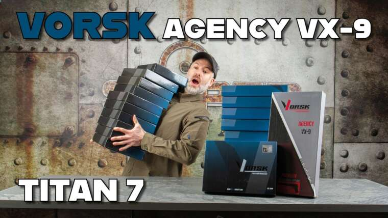 VORSK AGENCY VX-9 & TITAN 7 Airsoft Pistole unboxing |  Sniper-as.de