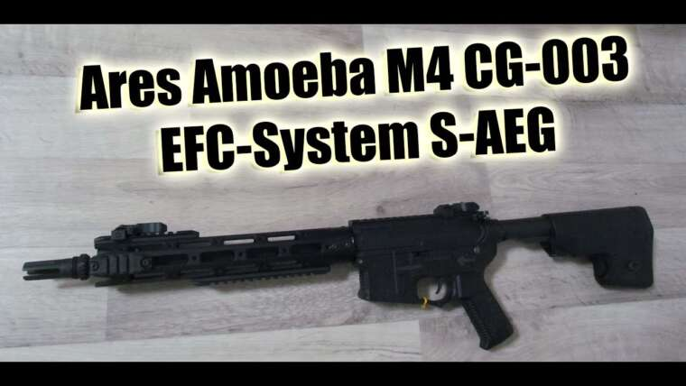Ares AMOEBA M4 CG-003 EFC-System Airsoft Review