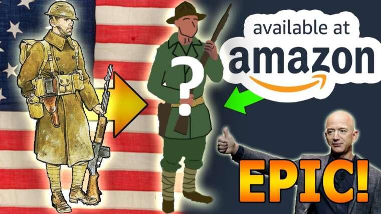 """🇺🇲Nous avons fait un """"Uniforme américain WW1"""" d'Amazon pour 127 $"""