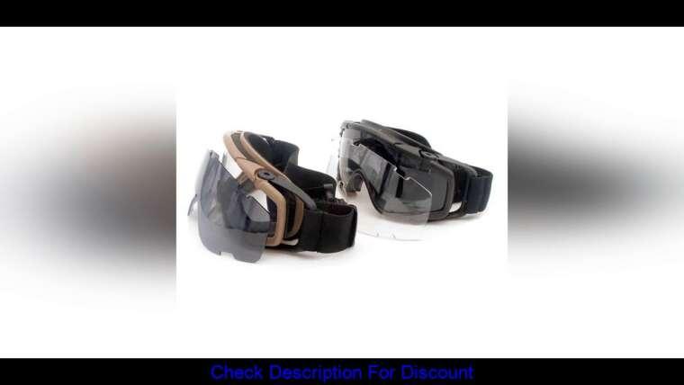 Donner votre avis sur FMA Cooler Fan Version Black Outdoor Paintball Airsoft Glasses SI-Ballistic Goggle