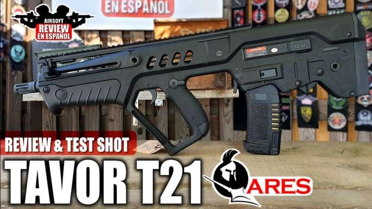 TAVOUR T21 ARES Bullpup AEG |  Revue Airsoft en espagnol