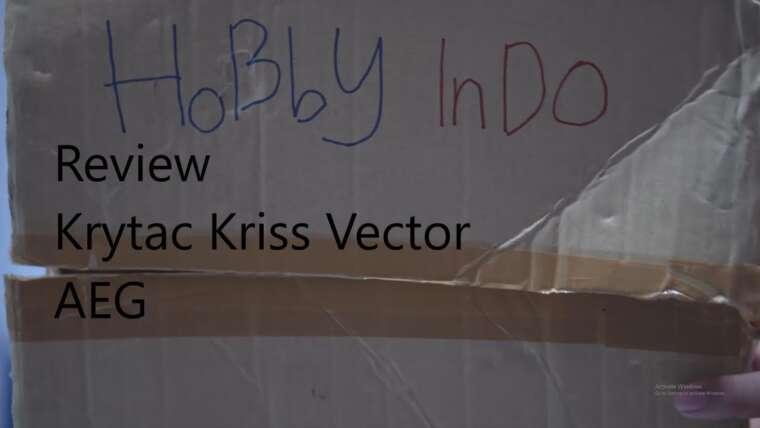 Krytac Kriss Vector AEG REVIEW Airsoft Gun (indonésien)