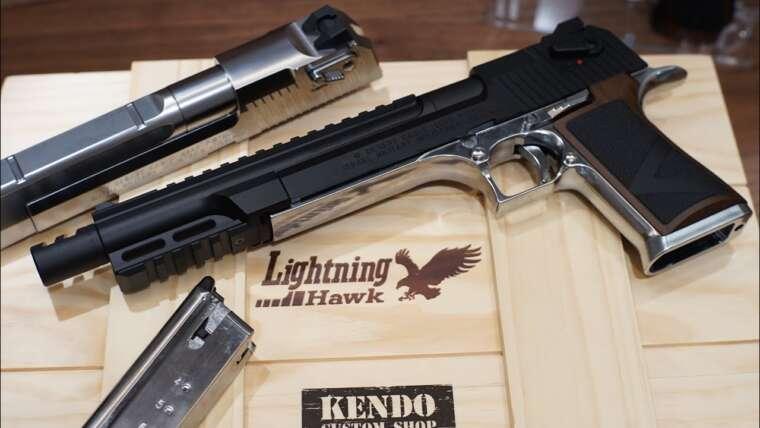 Unboxing Tokyo Marui Limited Biohazard Remake 2 Pistolet Airsoft Lightning Hawk