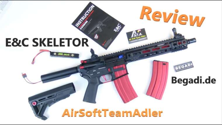 Critique E&C Skeletor Airsoft |  Begadi.de |  AirSoftTeamAdler