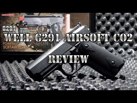Évaluer G291 bien espagnol ||  Co2 ||  Pistolet Airsoft à 30 €