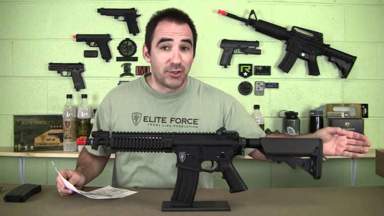 Critique Airsoft – Elite Force 4CRS AEG