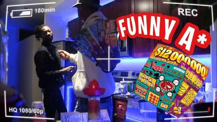 FAUX 5000 $ DE BILLETS DE LOTERIE PRANK SUR @Bandit Gang Marco * SUPER DRÔLE *