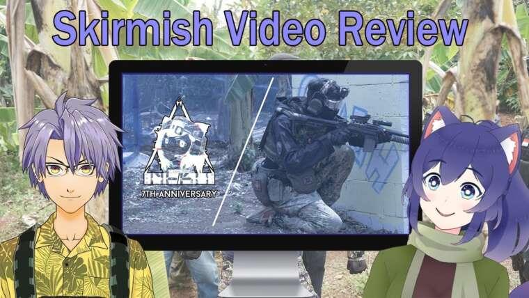 【Neko Airsoft Team】 Airsoft Skirmish Review avec Koshka et Kajiki
