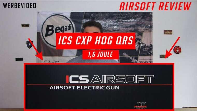 ICS CXP HOG QRS – SAEG 6mm – Test Airsoft