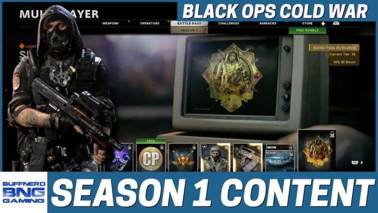 Contenu de la saison 1 – Call Of Duty Black Ops Cold War