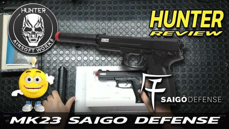 REVUE HUNTER – MK23 SOCOM SAIGO DEFENSE