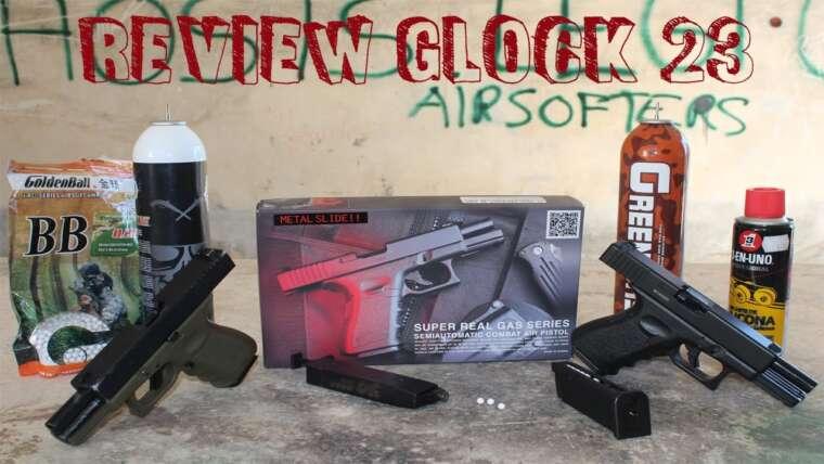 Évaluer Glock 23 KJW Incroyable Réplique Qualité Prix