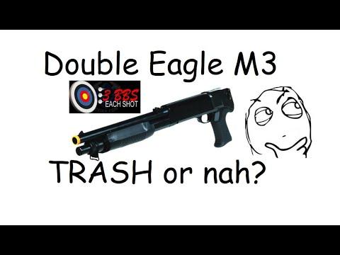 Les fusils de chasse à ressort sont-ils bons ???  – Examen du fusil de chasse Double Eagle M3 à trois coups.