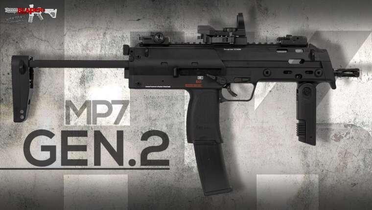 [Review] VFC HK MP7 A1 Gen.2 – 2021 (Heckler & Koch, Umarex) 6 mm S-AEG Airsoft / Softair (allemand, DE)