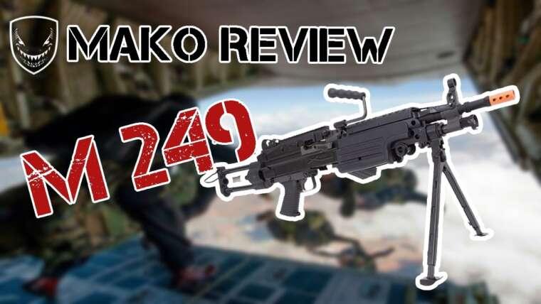 M249 CLASSIC ARMY |  REVUE |  MAKO AIRSOFT 🦈