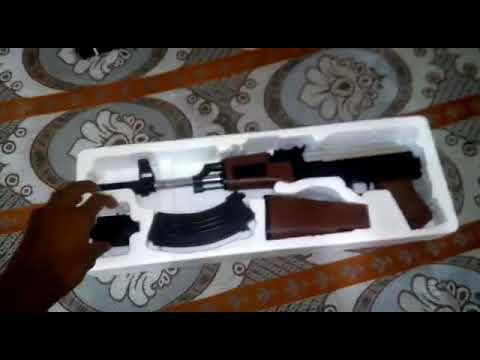 Unboxing du pistolet airsoft Ak 47