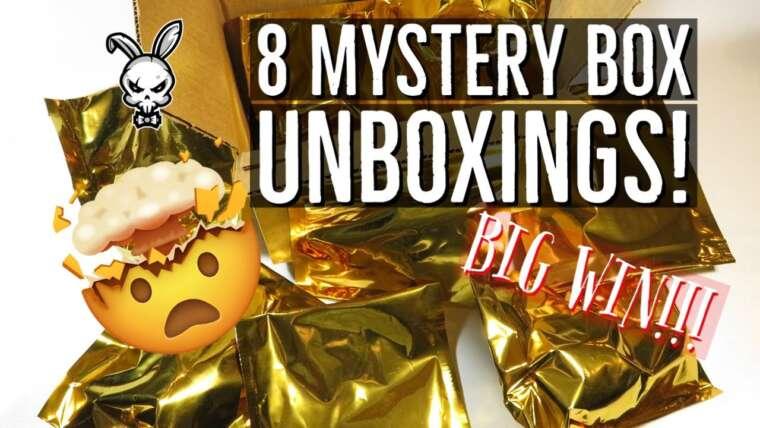 8 boîtes mystères à déballer    Airsoft de Toronto